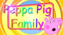 Peppa Pig LOS PERSONAJES DE Frozen Family en español Cartoon Personajes Olaf Elsa Anna English New