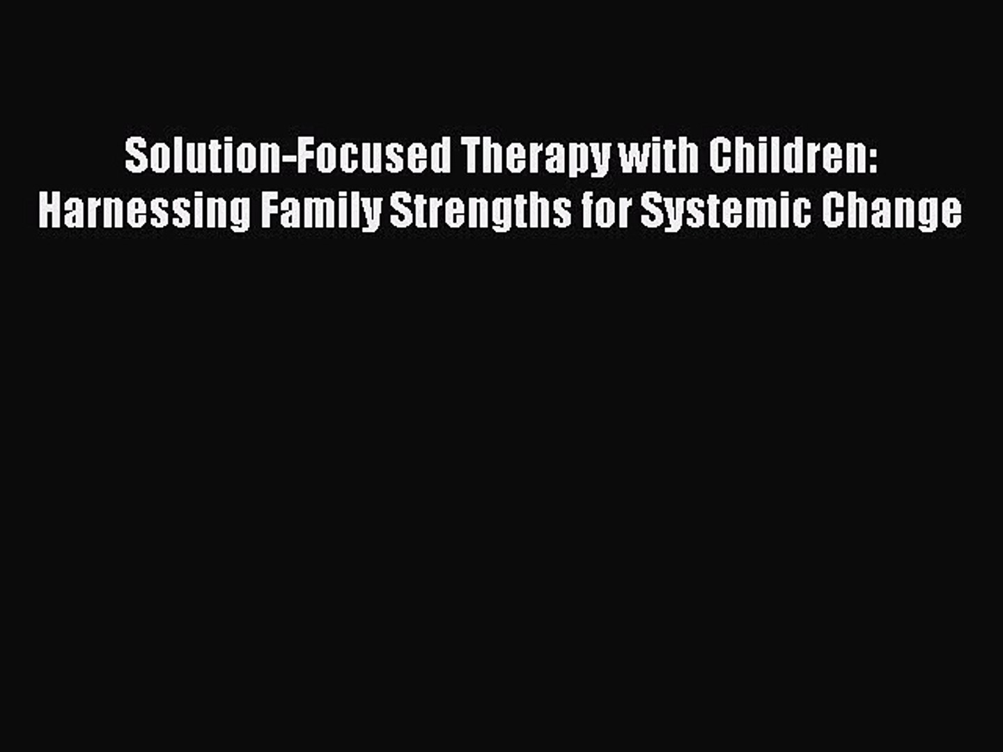 Systemic Treatment Of Incest A Therapeutic Handbook