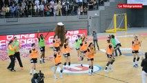Brest Bretagne handball. La danse de la victoire