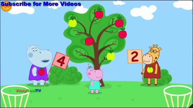 Peppa Pig Em Portugues aprender matemática | Jogos Para Crianças | Jogos Peppa Pig VickyCoolTV