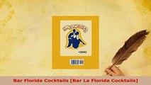 Download  Bar Florida Cocktails Bar La Florida Cocktails Read Online