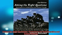 READ book  Asking the Right Questions Techniques for Collaboration and School Change  DOWNLOAD ONLINE