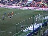Inter  2 - Lecce 1 stagione 2005/2006 rigore di Adriano