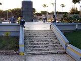 MAL EJEMPLO TEAM gilbert ollie 10 stairs RD SK8