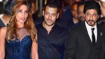 Salman Introduces Iulia Vantur To Shahrukh Khan