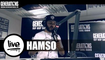 Hamso - Tant Pis (Live des studios de Generations)