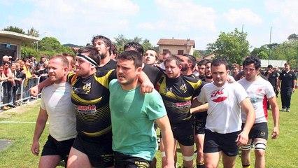 FC Trie - US Sainte Foy, 16e de finale championnat de France de rugby première série