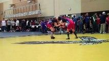 Mariah EUHS vs Bob EUHS, Enochs Tournament 1-22-11