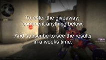 (CSGO) ( OPEN) GIVE AWAY!! M4A4 龍王 (Dragon King)!! - Counter Strike Global Offensive