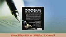 PDF  Mass Effect Library Edition  Volume 2 PDF Online