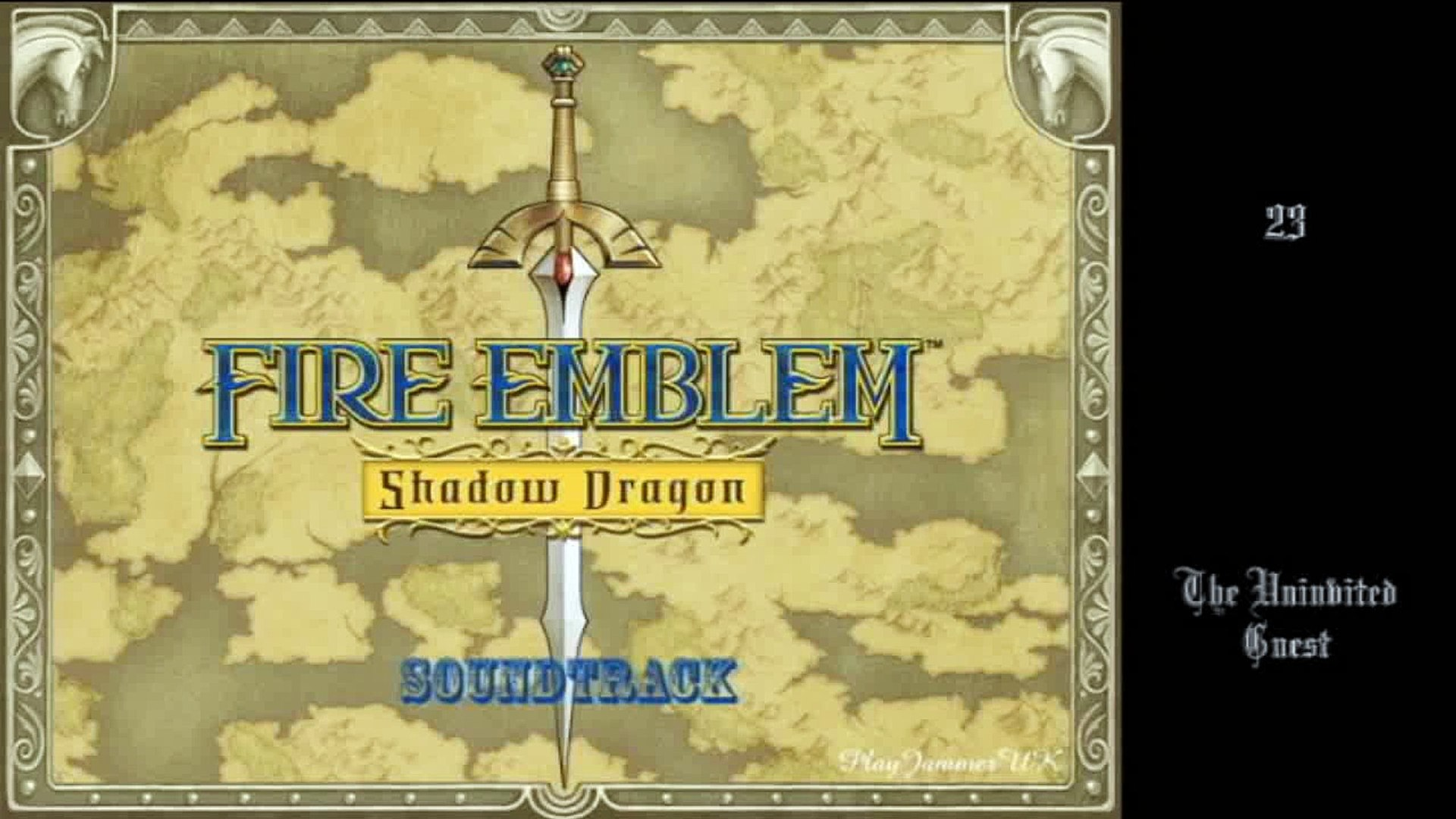 Fire Emblem Shadow Dragon Ost 23 The Uninvited Guest Video