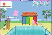Peppa Pig Games - Peppa Pig Swimming And Diving Game - Daddy Pig's big splash