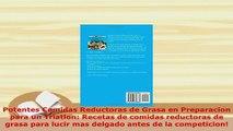 PDF  Potentes Comidas Reductoras de Grasa en Preparacion para un Triatlon Recetas de comidas  Read Online