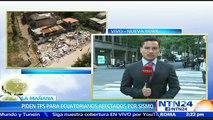 Ecuatorianos en Nueva York piden a Rafael Correa solicitar a EE.UU. el Estatus de Protección Temporal tras un mes del terremoto