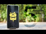 5 Awesome Android Apps You Won't Regret Trying! Android Tips - YoutubeTechno