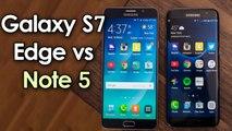 Samsung Galaxy S7 Edge vs Galaxy Note 5 Camera Performance Compared