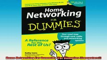 Downlaod Full PDF Free  Home Networking For Dummies For Dummies Computers Online Free