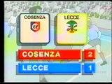 Cosenza-LECCE 2-1 - 19/01/1992 - Campionato Serie B 1991/'92 - 19.a giornata di andata
