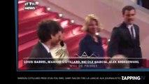 Festival Cannes 2016: Marion Cotillard prise d'un fou rire, Samy Naceri tire la langue aux photographes (Vidéo)
