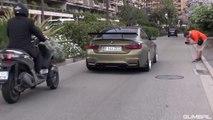 Uohuu! BMW M4 F82 w- Fi-Exhaust! Revs & Wheelspin! Nice sound