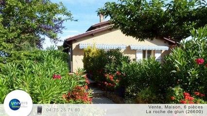 A vendre - Maison/villa - La roche de glun (26600) - 6 pièces - 161m²