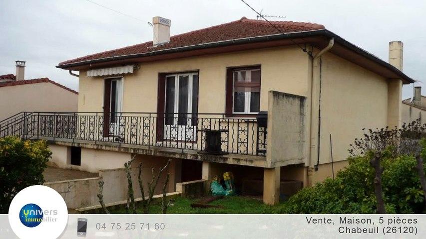 A vendre - Maison/villa - Chabeuil (26120) - 5 pièces - 80m²