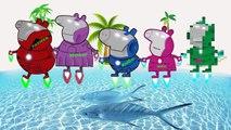Peppa Pig Finger Family Iron man - PEPPA PIG IRON MAN Daddy Finger - Nursery Rhymes Lyrics