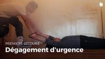 Dégagement d'urgence: Premiers secours. Croix Rouge/Croissant Rouge