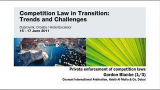 27 Gordon Blanke Private enforcement of competitio