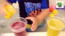 Bath playtime peppa Pig Family Elmo bubbles  colors/disfrutando Baño Colores burbujas