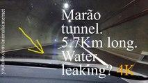 Marão tunnel leaking water? Water on the road at 01m 29s. Amarante - Vila Real. 5.7Km long   Túnel do Marão metendo água? Água na via a 01m e 29s. Amarante - Vila Real. 5.7Km de comprido   4k UHD 2160p