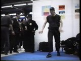 Ecole du tigre volant démonstration kungfu taichi au Salon des arts martiaux paris