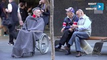 Dancing Grandpa Shocks Strangers Asked to Keep an Eye on Him