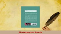 Download  Shakespeares Bawdy Free Books