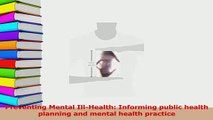 Read  Preventing Mental IllHealth Informing public health planning and mental health practice Ebook Free