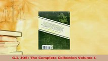 Download  GI JOE The Complete Collection Volume 1 Read Online