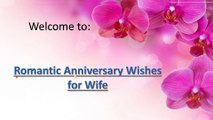 Romantic Anniversary wishes for wife  Wedding Anniversary Wishes and MEessages