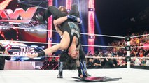 WWE Raw 16th May 2016 Part 10 - WWE Raw 16/5/16 Part 10[Aj Styles Attacks Roman Reigns]