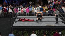 WWE 2K16 carnage v jeff hardy v brock lesnar
