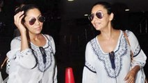 Shahrukh Khan's Wife Gauri Khan Spotted At Mumbai Airport
