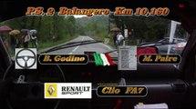 Cameracar 28°Rally di Torino 2013 Godino-Paire Renault Clio FA7 3° di Classe!