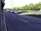 Avenida Kennedy, límite de las comunas de Las Condes y Vitacura, 25/Octubre/2010