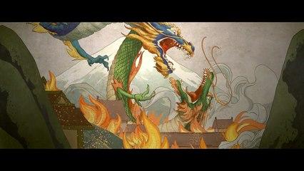 Court-métrage d'animation Les Deux Dragons de Overwatch