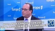 Hollande candidat en 2017? Son lapsus semble le confirmer