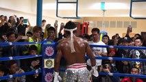Muay Thai Vs Sanshou Buakaw Banchamek TKO