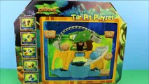 Dreamworks The Croods Tar Pit Playset with Grug Toy Story Rex gets saved by Grug from Tar Pit