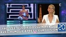 Eurovision: Trollée pour une imitation, Elodie Gossuin réagit avec humour