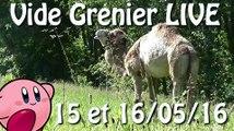 Vide Grenier LIVE - 15 et 16 Mai 2016