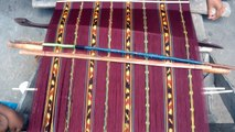 Ikat weaving (tenun ikat) in Ternate Village, Indonesia (10)