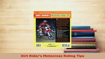 PDF  Dirt Riders Motocross Riding Tips Free Books